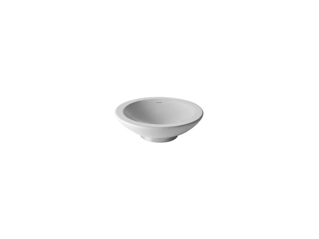Duravit Bagnella - umývadlová misa 40 cm 045140