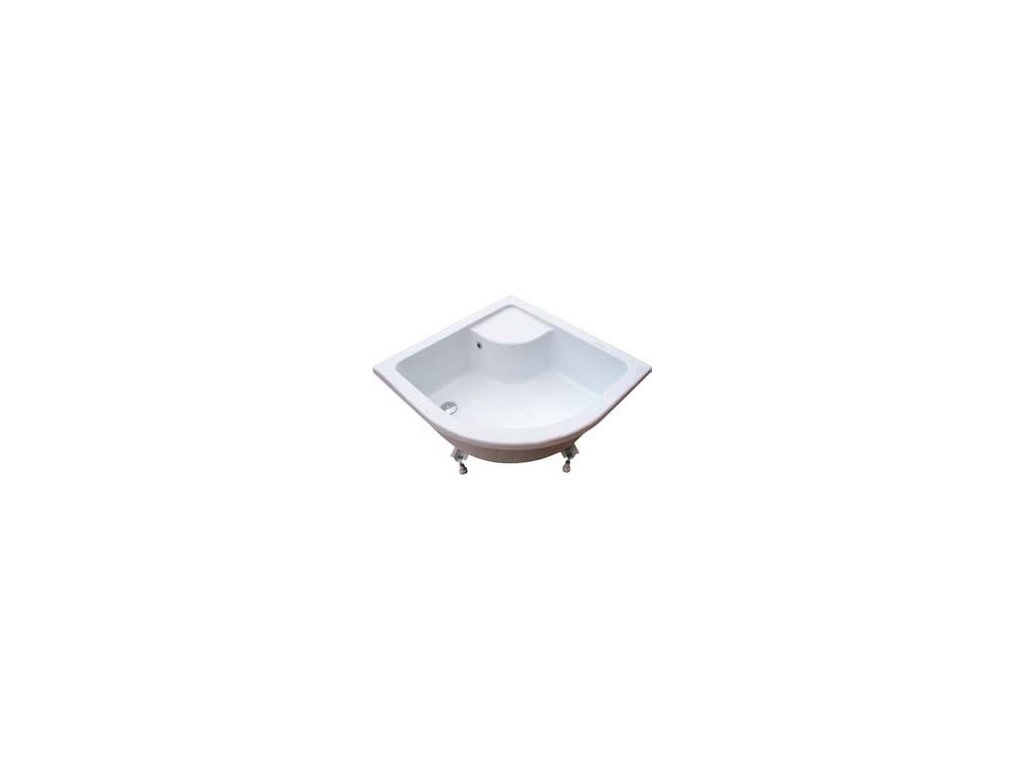 Ravak Sabina LA - sedacia vanička (mini vaňa) 80 x 80 cm + nožičky Base