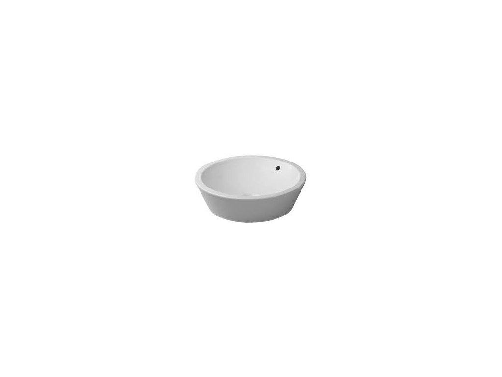 Duravit Starck 1 - umývadlová misa, priemer 53 cm 044753000