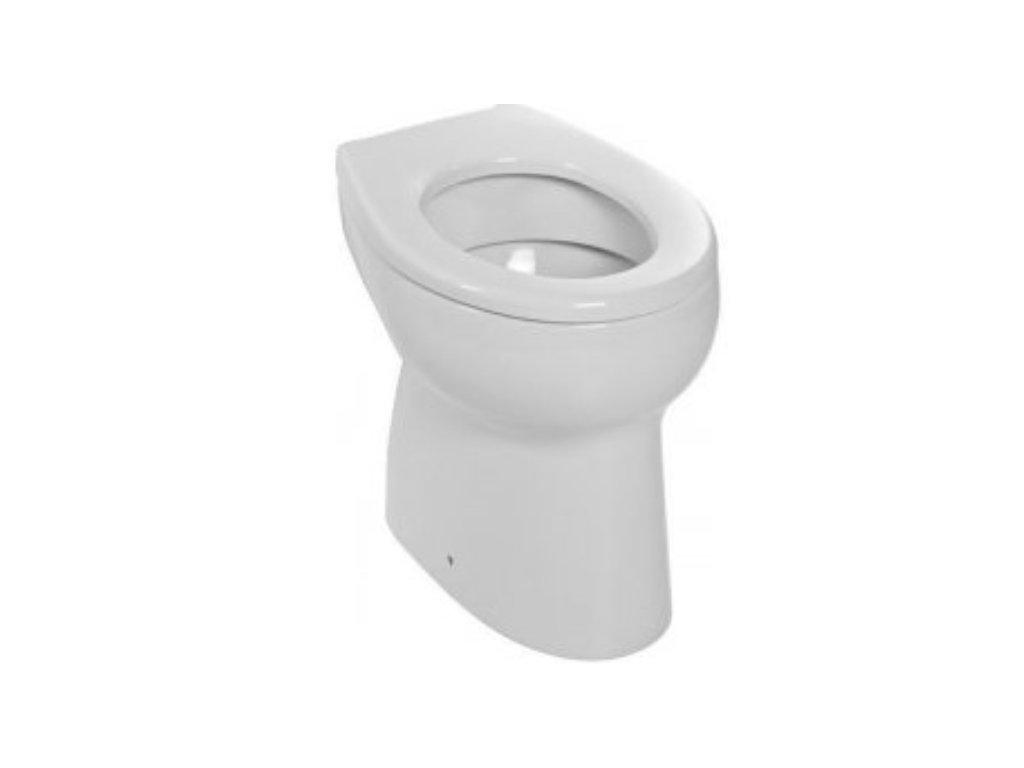 Jika BABY detské stojace wc mm so zvislým odpadom ploché splachovanie vrátane inštalačnej sady bez sedátka kupelnashop.sk
