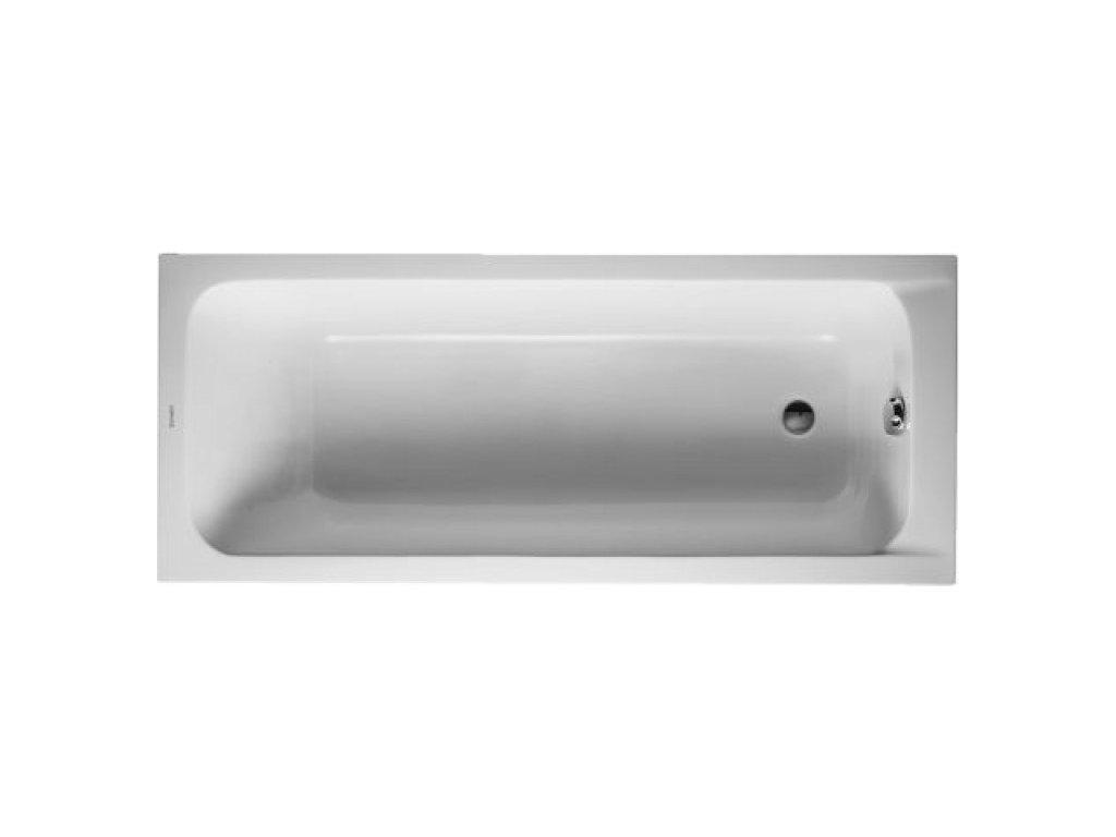 Duravit D-Code akrylátová vaňa 160x70 cm, 70009600 kupelnashop.sk