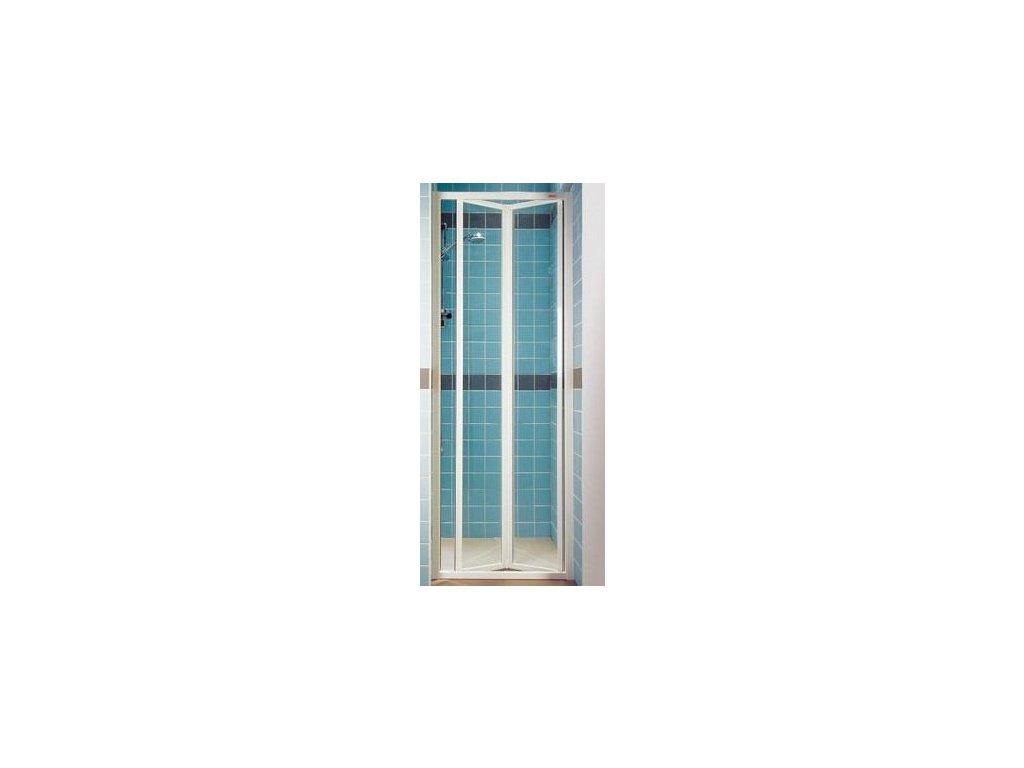 Ravak SDZ2 - 70 cm dvojdielne zalamovacie sprchové dvere číre sklo