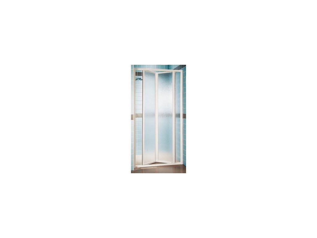 Ravak SDZ3 - 100 cm trojdielne sklápacie sprchové dvere Grape