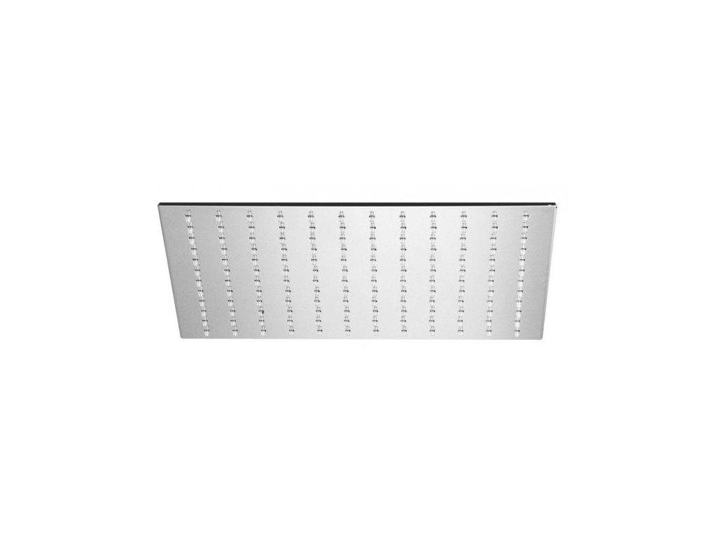 Alpi Idroterapia - kovová hranatá hlavová sprcha priemer 30x30cm SF076A