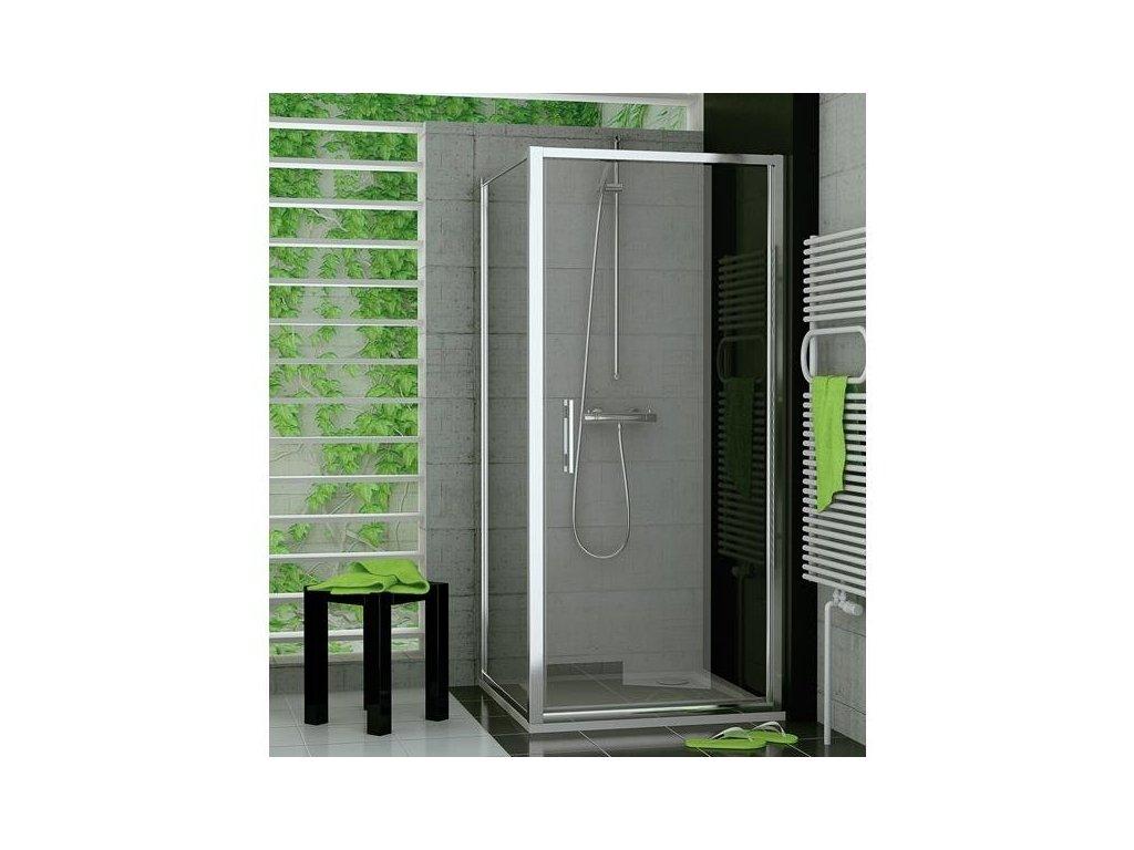 Sanswiss Ronal Top-Line - sprchové dvere 90 cm + úprava Aquaperle