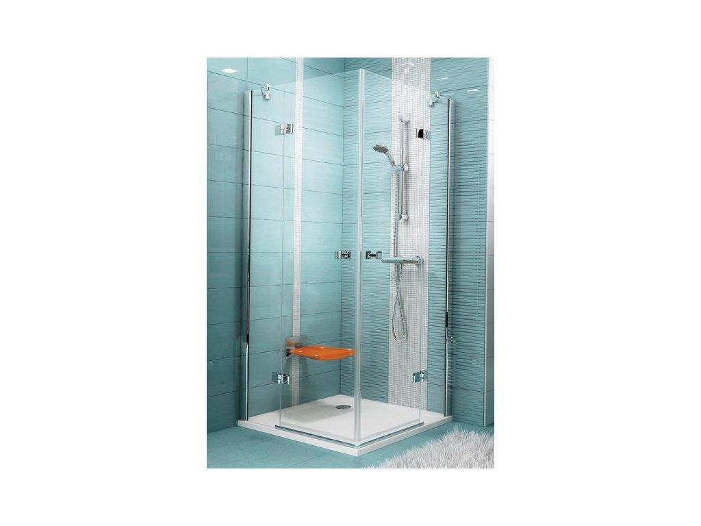 Ravak SmartLine - dizajnový rohový sprchový kút 90 x 90 cm SMSRV4-90