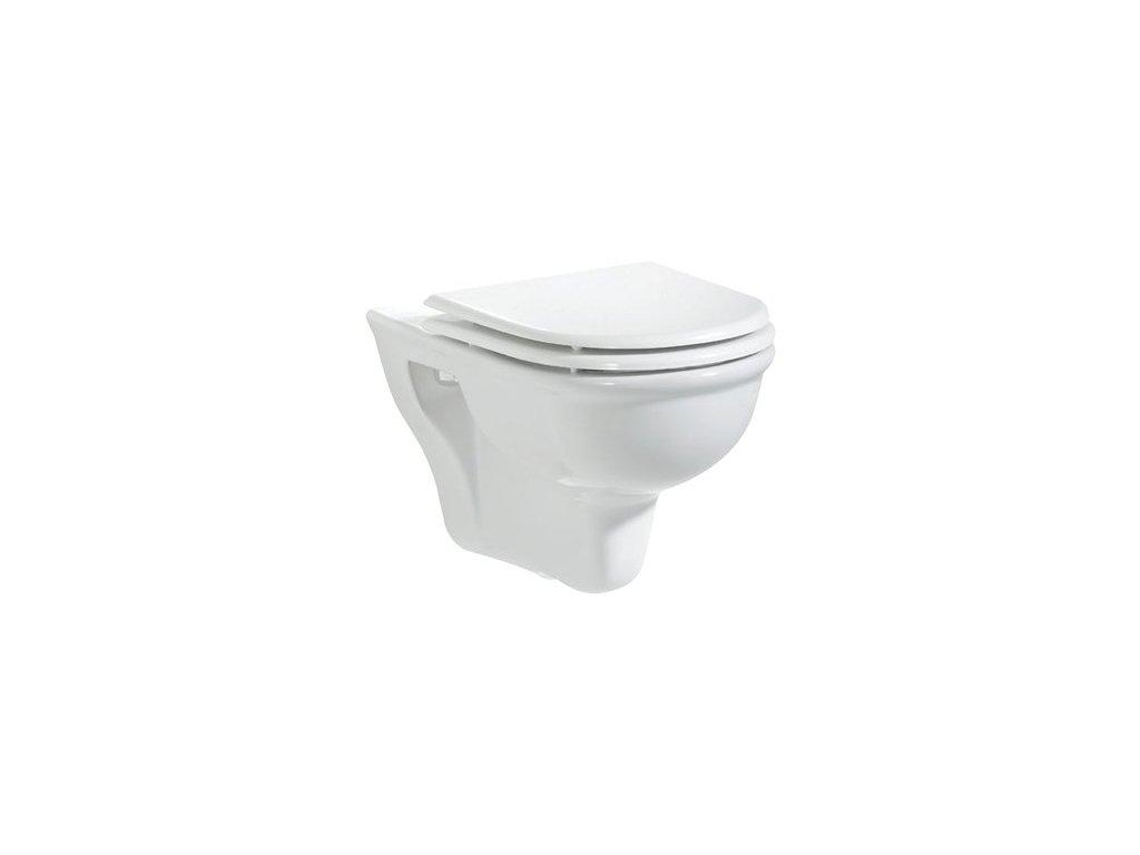 Creavit Selin závesné WC + bidet 2v1 - SL320 rozmer 55,3x36,5