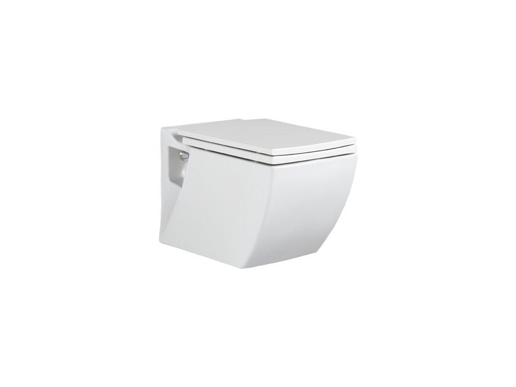 Creavit LEA  závesné WC + bidet 2v1 - TP324