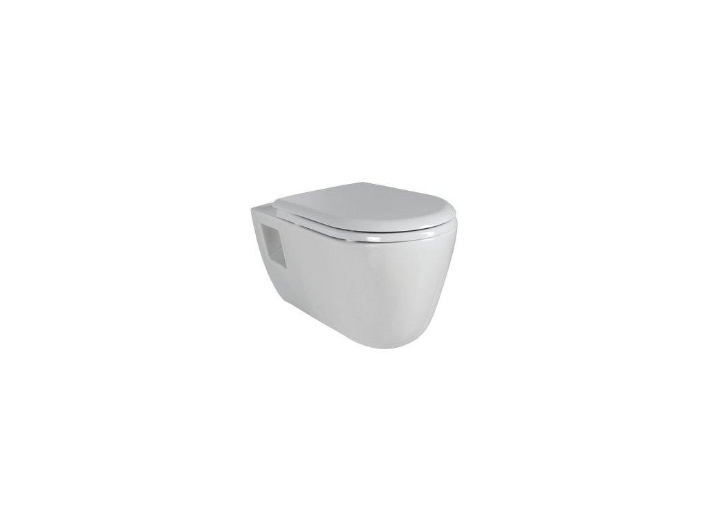 Creavit Tekko - závesné WC + bidet 2v1 - TP328