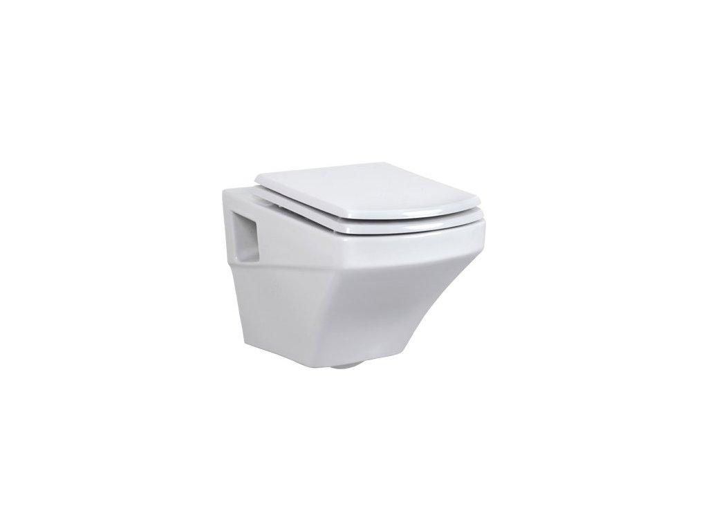 Creavit SORTI závesné WC + bidet 2v1 - SR320