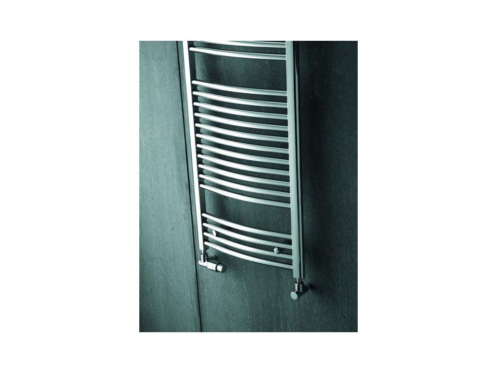 Zehnder Aura - 595 x 1217 mm kúpeľňový radiátor PBTCN-120-060
