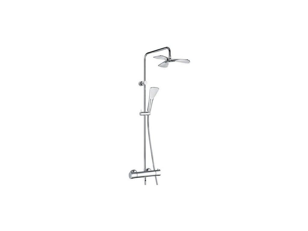 Kludi Fizz - termostatický duálny sprchový systém DN 15