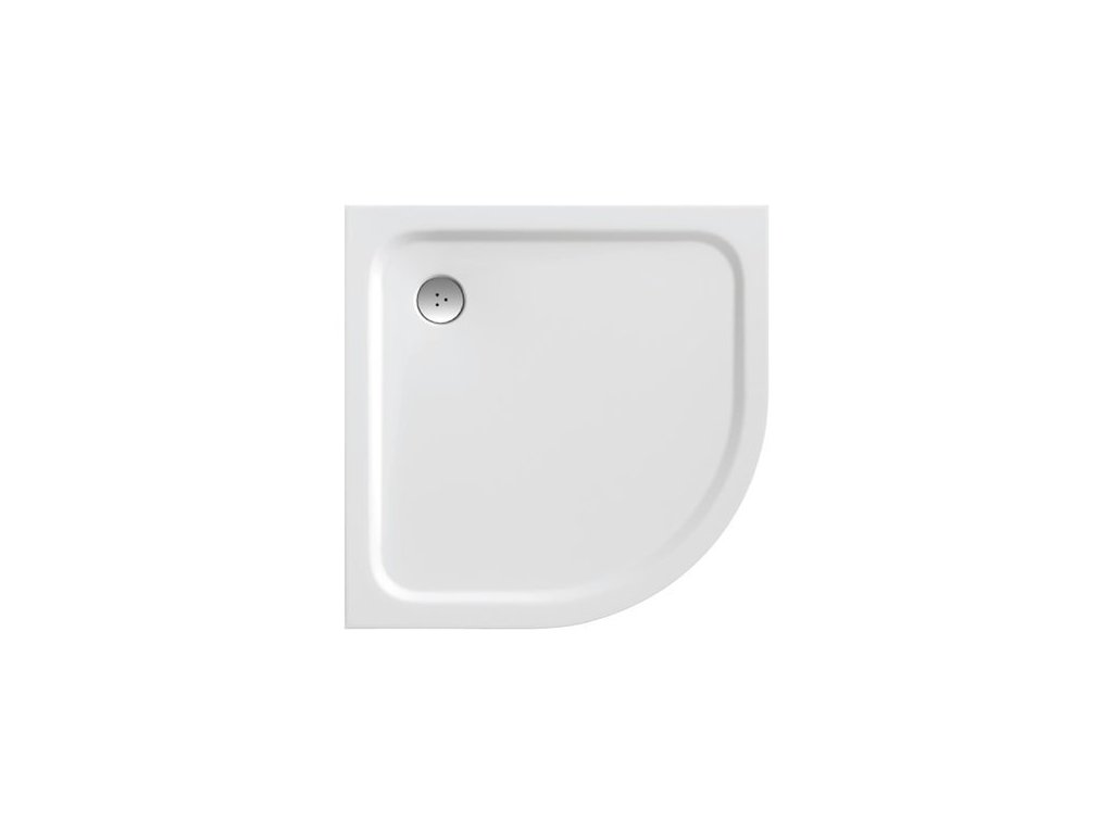 Ravak Chrome - oblá vanička 80 x 80 cm