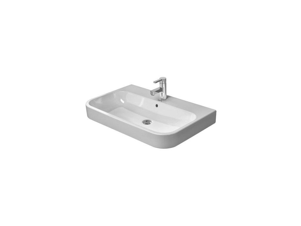 Duravit Happy D.2 - 2318800027 - umývadlo brúsené 80 x 50,5 cm
