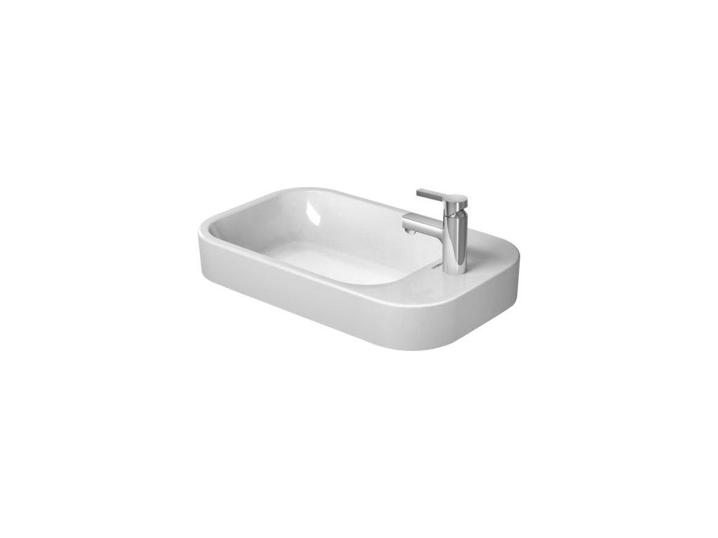 Duravit Happy D.2 - 2317650000 - umývadlo 65 x 40 cm
