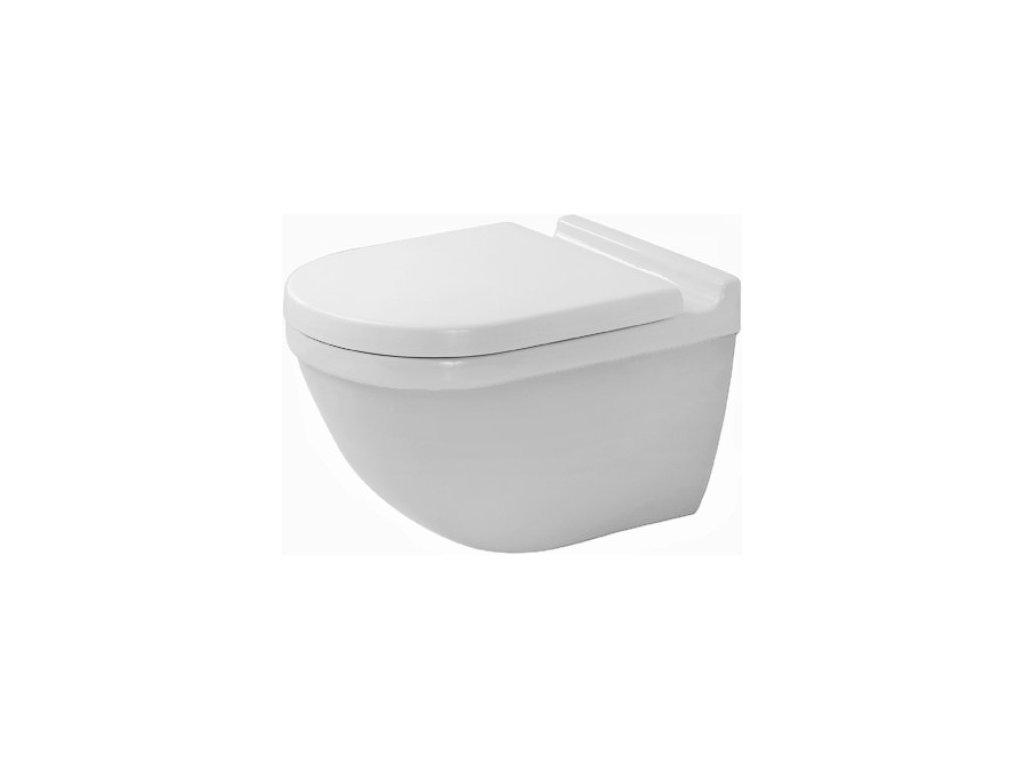 Duravit Starck 3 - 2227090000 - Závesné WC 36 x 48,5 cm kupelnashop.sk