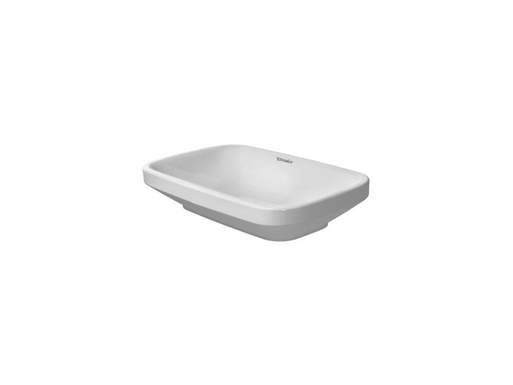 Duravit DuraStyle - 034960000 umývadlová misa 60 x 38 cm