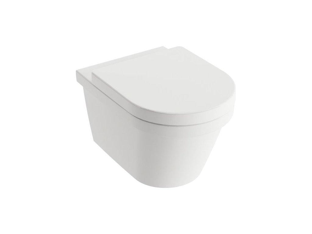 Ravak Chrome - závesné WC 53x36cm