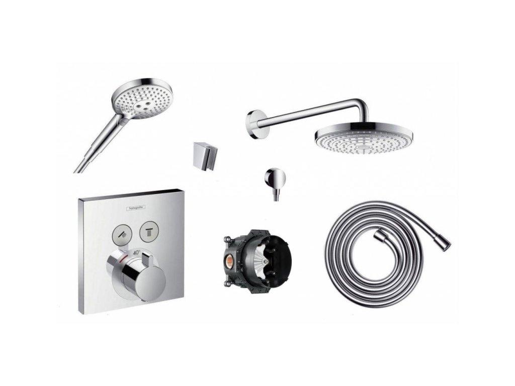Hansgrohe ShowerSelect - termostatická podomietková batéria 15763000 kupelnashop.sk