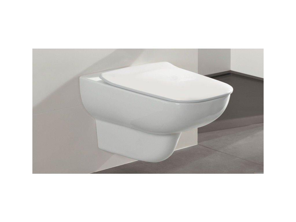 Villeroy & Boch Joyce - závesné WC Direct Flush 56 x 37 cm 5607R001