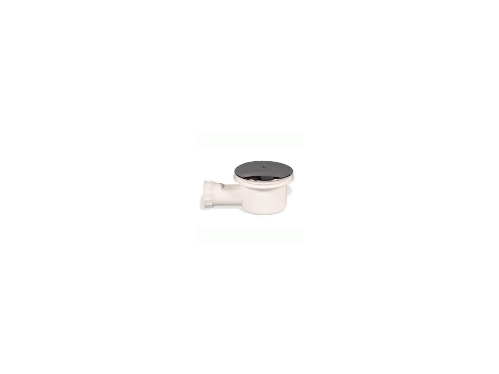 Sprchový vaničkový sifon,chromové prevedenie,priemer 90mm