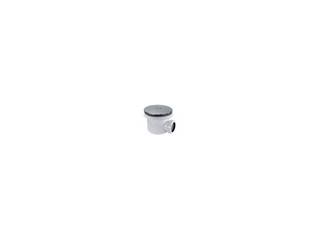 Sanswiss sprchový sifón 90 chróm + koleno 40/50mm