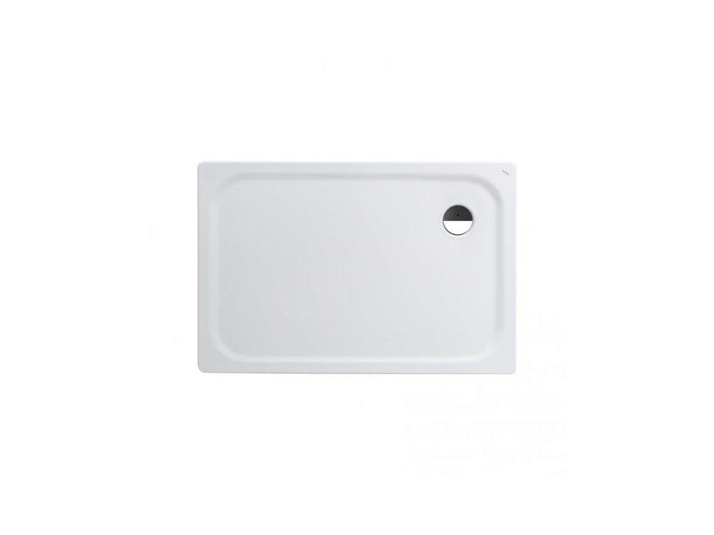 Laufen Platina oceľová sprchová vanička biela 120x80x2,5 cm