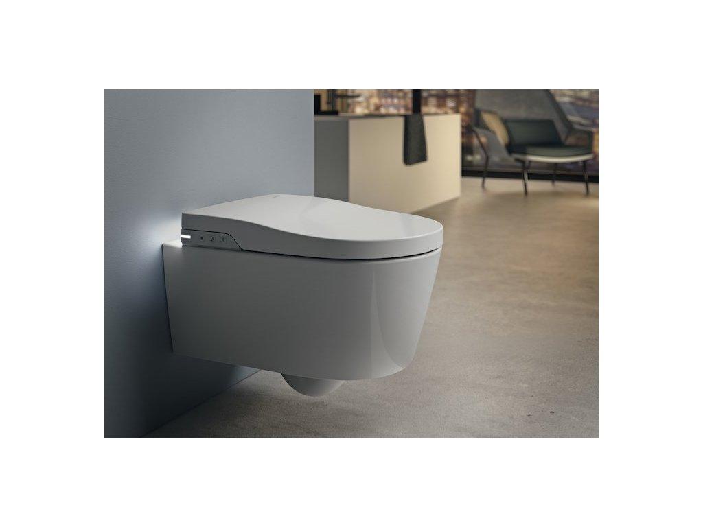 Roca In-wash Inspira závesné wc s bidetovým elektronickým sedátkom A803060001