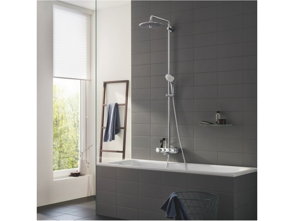GROHE Euphoria SmartControl 260 sprchový systém chróm 26510000 kupelnashop.sk 2