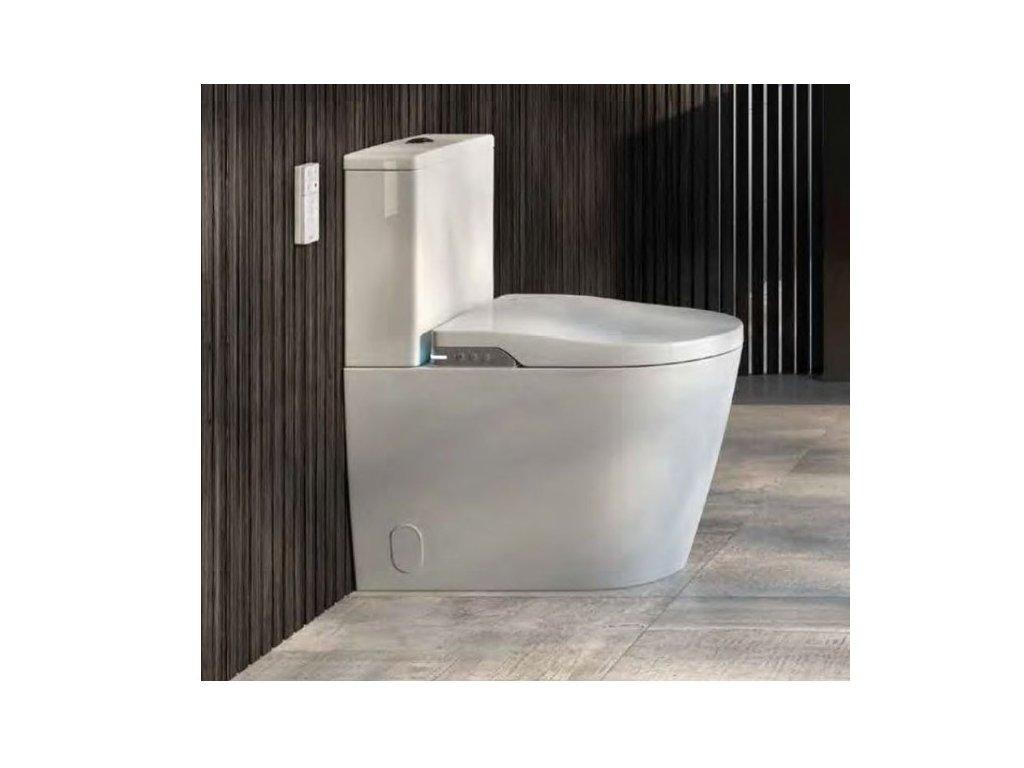 Roca In wash Inspira stojaté wc + Dual Flush nádržka s bidetovým elektronickým sedátkom A803061001 kupelnashop.sk 5