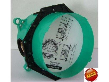 Hansgrohe Ibox - podomietkové teleso pre batérie 01800180 kupelnashop.sk