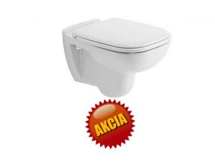 Duravit D-Code závesné WC hlboké splachovanie 54x35,5 cm, 220909 kupelnashop.sk