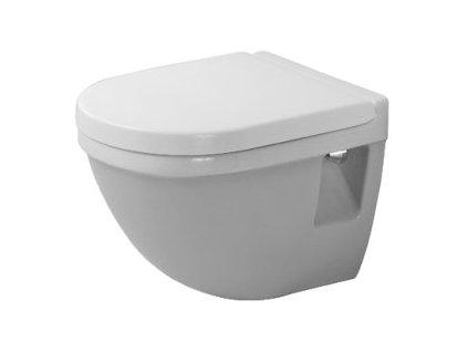 Duravit Starck 3 závesné WC Compact 36x48,5 cm, 22020900 kupelnashop.sk