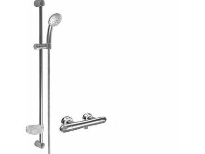 Výpredaj HansaUnita sprchová termostatická batéria + sprchový set 48190191