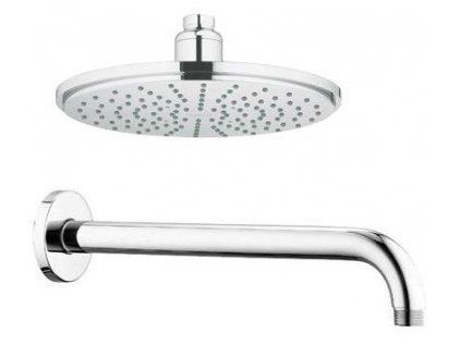 Grohe Rainshower hlavová sprcha Modern 210mm s pripojením, 28368+28576