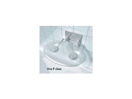Ravak Ovo - clear - sprchové sedadlo číre