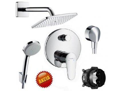 Hansgrohe SET 5 - sprchový systém podomietkový kupelnashop.sk