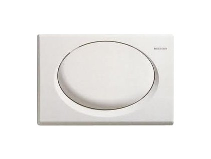 Geberit Rumba tlačidlo biele, plast, 115.750.11.1
