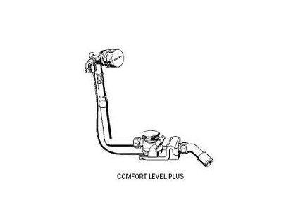 Kaldewei Comfort Level Plus - predĺžený vaňový sifón 4012