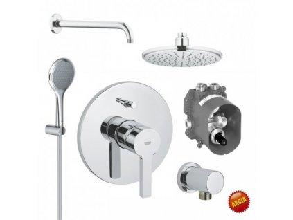 Grohe SET 4 - sprchový systém pod omietku, Grohe komplet, páková batéria, chróm