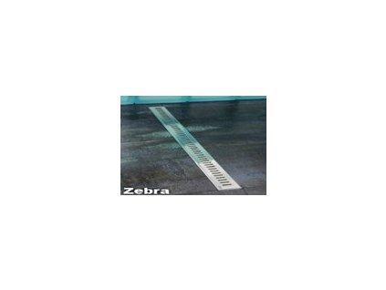 Ravak Zebra sprchový podlahový žľab 105cm