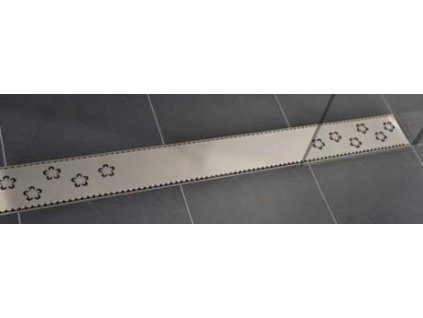 Viva Classic - 100 cm nerezová sprchová mriežka pre žľaby Classic a Lift (V0480 cm)