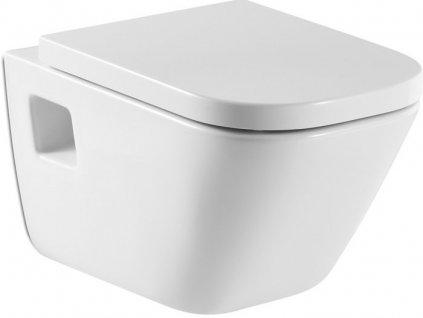 Roca The Gap - závesné WC hlboké splachovanie 54 x 34 cm 7346477000