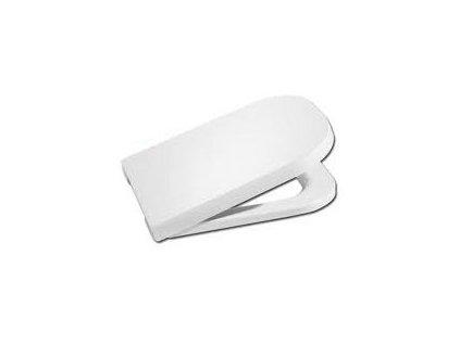 Roca The Gap wc sedátko s chromovými úchytmi + softclose, 7801472004
