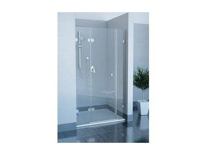 Ravak GSD3 120 L/R trojdielne sprchové dvere, výška 1900mm + G SET 120 L/R