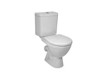 Jika Lyra Plus stojace wc + nádržka vodorovný odpad napúšťanie z boku kupelnashop.sk