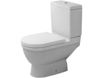 Duravit Starck 3 stojace WC 360x655 mm, hlboké splachovanie 01260100 kupelnashop.sk