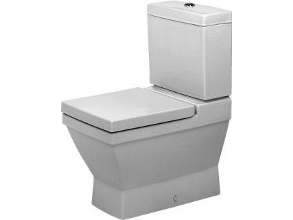 Duravit 2nd floor stojace WC 370x665 mm, hlboké splachovanie, odpad Vario 21060900 kupelnashop.sk