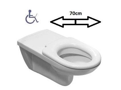 Jika Olymp závesné wc predĺžený - bez sedátka kupelnashop.sk