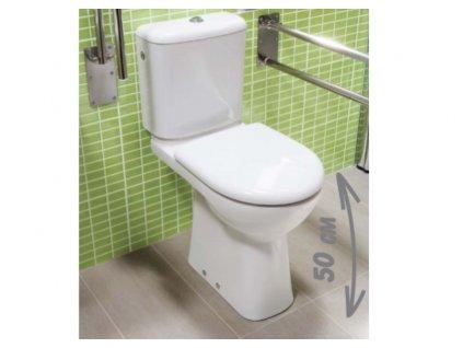 Jika Olymp stojace wc zvýšená wc misa spodný odpad bez nádržky kupelnashop.sk